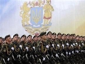 Затяжная речь Ющенко внесла сумбур в проведение парада