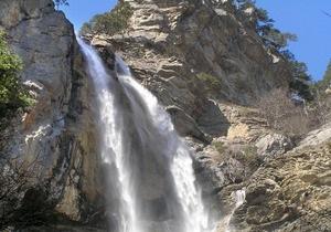 В Крыму погиб альпинист, спускаясь с вершины водопада Учан-Су