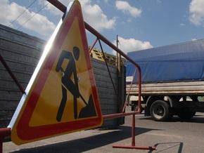 В Киеве частично ограничили движение по улице Борщаговской и бульвару Лепсе