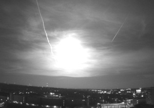 Над США пронесся крупный метеорит