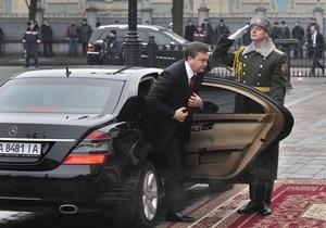 Корреспондент: Передвижение Януковича парализует Киев