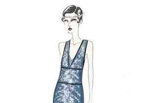 Prada показала эскизы костюмов для Великого Гэтсби