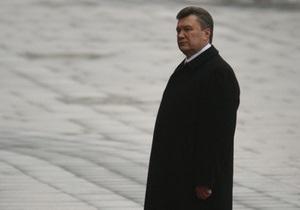Янукович: Я сам буду заниматься гуманитарной сферой