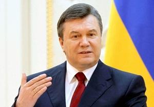 Янукович: Мы хотим получить реальную перспективу вступления в ЕС