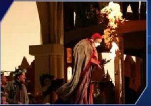 В США артист оперы загорелся во время репетиции