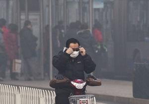 В Пекине из-за смога отменили множество авиарейсов