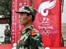 Олимпийский огонь увидели в Тибете
