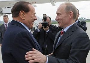 Путин вступился за Берлускони: За женщин его ругают из зависти