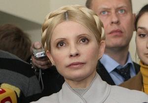 Тимошенко заявила, что американский суд принял к рассмотрению ее иск к Фирташу