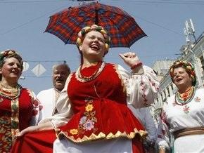 В Западной Украине активно покупают китайские вышиванки