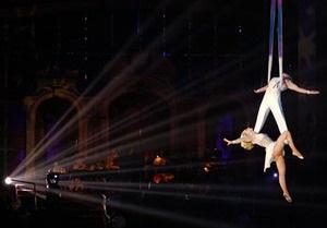 В цирке Никулина разбились гимнасты