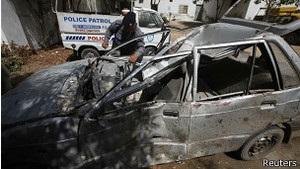 В Пакистане взорван офис кандидата на выборы