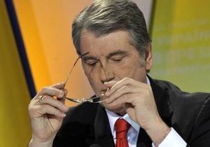 Ющенко пообещал уйти в  отключку  на десять дней и вернуться в политику