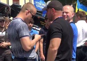 До и после драки. Нападавшие на журналистов участвовали в митинге ПР