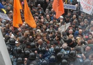 Чернобыльцы объяснили, зачем организовали новую акцию протеста