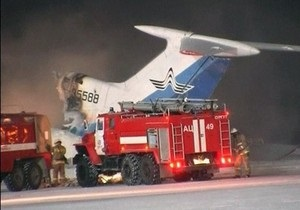 В Сургуте найдены бортовые самописцы сгоревшего Ту-154