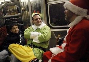 В Европе начал курсировать специальный рождественский поезд