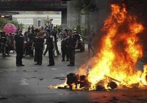 Кризис в Таиланде: оппозиция согласилась на переговоры во избежание новых жертв