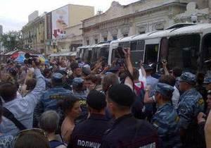 Москва - В Москве задержали более 40 сторонников Ходорковского