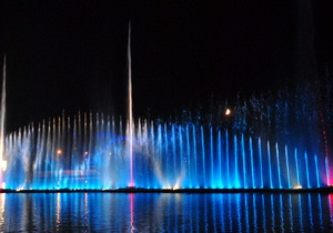 В Виннице откроют новый сезон крупнейшего в Европе светомузыкального фонтана