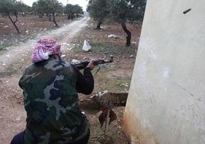 Сирийские повстанцы отвергают мирный план