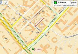 Яндекс.Пробки ввел функцию персональных маршрутов для киевлян
