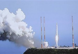 Южнокорейская ракета взорвалась во время набора высоты