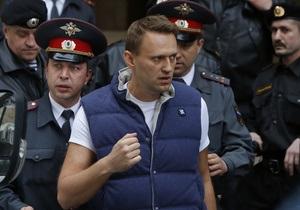 К Навальному пришли с обыском