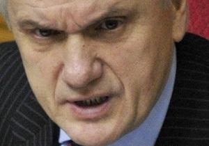 Литвин отказался по просьбе БЮТ отложить рассмотрение программы развития Украины