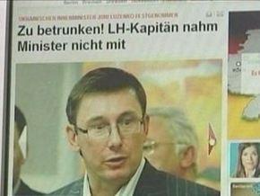 В Lufthansa объяснили, почему не пустили Луценко на борт самолета