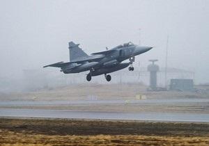 В ливийской операции НАТО начали участвовать самолеты ВВС Швеции