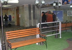 В харьковском метро обустроили место для свиданий