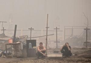 Огонь уничтожил около 500 строений в Волгоградской и Саратовской областях
