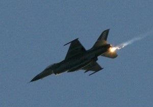 В Израиле потерпел крушение истребитель F-16