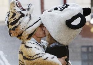 Сегодня - Всемирный день поцелуев