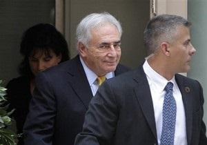 Стросс-Кан извинился перед бывшими коллегами из МВФ
