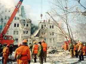 Спасатели не обнаружили пострадаших под завалами в Астрахани