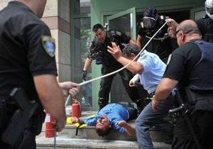 Бывший клиент устроил акт самосожжения в греческом банке