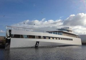 В Нидерландах представили яхту, спроектированную Стивом Джобсом
