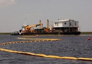 BP начала закачку буровой жидкости в скважину в Мексиканском заливе