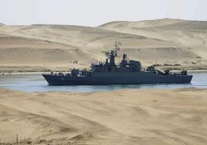 Корабли ВМС Ирана впервые с 1979 года прошли через Суэцкий канал