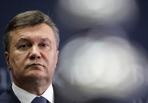 Янукович заявил, что вопрос лечения Тимошенко за границей рассматривается