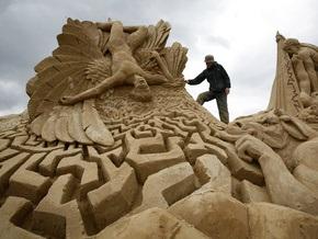 30 мая в Киеве откроется выставка песочных скульптур