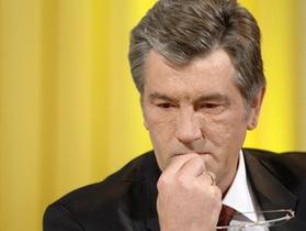 Ющенко укусил хомяк