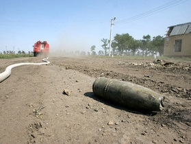 Жителю Севастополя, пытавшемуся распилить боеприпас болгаркой, оторвало ноги