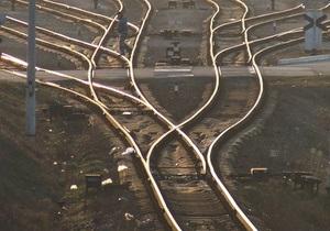 В Грузии сошел с рельсов пассажирский поезд