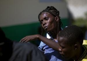 Жертвами эпидемии холеры на Гаити стали 3,7 тысячи человек