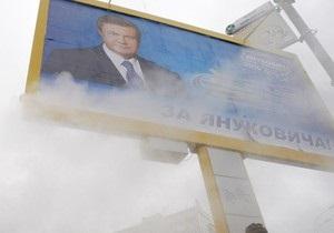 Янукович обещал построить в белорусской деревне Януки молокозавод