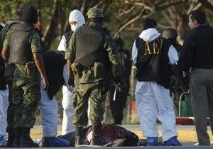 В Мексике во время разборок наркоторговцев убили 25 человек
