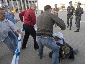 В Минске разогнали акцию протеста против совместных с Россией военных учений